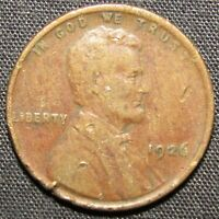 1926 US LINCOLN WHEAT CENT COPPER COIN