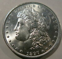 1897  MORGAN SILVER DOLLAR BU UNCIRCULATED  CONDITION