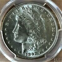 USA 1892 O MORGAN DOLLAR PCGS MINT STATE 64