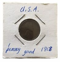 US COIN 1918 ONE CENT PENNY WHEAT