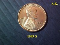 1949-S LINCOLN CENT