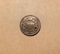 1867 TWO CENT PIECE