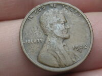 1922 D LINCOLN CENT WHEAT CENT- VG DETAILS