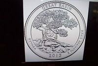 2013 D&P GREAT BASIN QUARTER  UNCIRCULATED