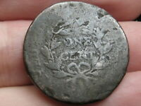 1796-1807 DRAPED BUST LARGE CENT PENNY- WITH STEMS