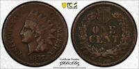 1877 INDIAN HEAD CENT  PENNY  PCGS VF DETAIL