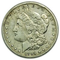 1895-S MORGAN DOLLAR,  DATE, LARGE SILVER COIN [4638.17]