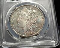 1888-O MORGAN SILVER DOLLAR - PCGS MINT STATE 63- NEAT COLOR - 3934   ENN COINS