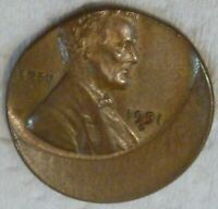 1951 D OFF CENTER LINCOLN WHEAT CENT MAJOR UNITED STATES ERR