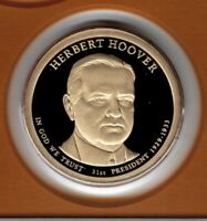 2014 HERBERT HOOVER PRESIDENTIAL PROOF DOLLAR FROM MINT PROOF SET CP2265