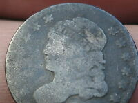 1829-1837 CAPPED BUST HALF DIME- 90 SILVER