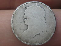 1809-1837 90 SILVER CAPPED BUST DIME- SLIGHTLY ROLLED RIMS