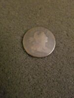 1798 U.S. DRAPED BUST LARGE CENT COIN AG