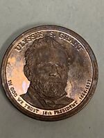 2011-S ULYSSES GRANT PRESIDENTIAL  DOLLAR COIN UNCIRCULATED TONED PROOF
