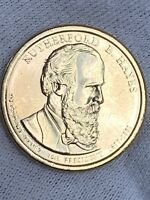 2011 D RUTHERFORD B HAYES PRESIDENTAL DOLLAR COIN UNCIRCULATED