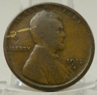 1912-S UNITED STATES LINCOLN WHEAT CENT, 63650 BIN