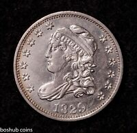 1829 CAPPED BUST HALF DIME 1/2 DIME FIRST YEAR OF SERIES BU DETAILS