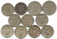 PHILIPPINES LOT OF 9 DIFFERENT 1 CENTAVO COINS 1931   1944 US TERRITORY