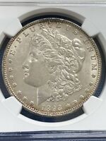 1893-O $1 MORGAN DOLLAR NGC AU-58, BETTER DATE   AND   IN GRADE