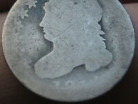 1811 OR 1814 90 SILVER CAPPED BUST DIME