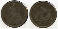 1841 O LARGE O SEATED LIBERTY HALF   EXCELLENT COIN  MINTAGE