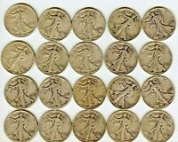 ROLL OF 1942 WALKERS SILVER COINS