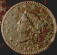 1819 CORONET HEAD LARGE CENT,
