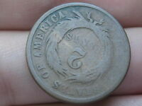 1864 TWO 2 CENT PIECE- LARGE MOTTO, ROTATED REVERSE MINT ERROR