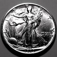 1919-P WALKING LIBERTY HALF    BU