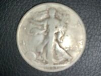 1933-S US WALKING LIBERTY HALF DOLLAR, SEEMS BETTER THAN GOOD, VG?, YOU LOOK