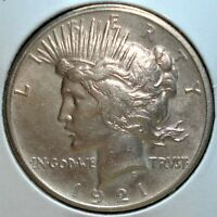 1921 SILVER PEACE DOLLAR KEY DATE