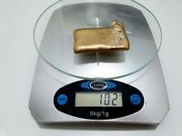 102 GRAMS SCRAP GOLD BAR FOR GOLD RECOVERY MELTED DIFFERENT
