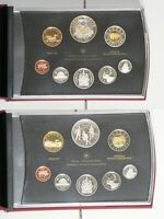 2011 & 2012 CANADA PROOF COIN SETS: PARKS CANADA & WAR OF 18