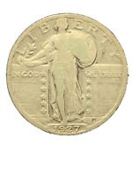 1927-S STANDING LIBERTY QUARTER - KEY DATE -  COIN 1634