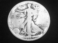 1919 LIBERTY WALKING HALF DOLLAR --  GOOD