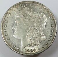 1890-S SILVER MORGAN DOLLAR $1 US COIN ITEM 25144