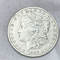 1896 O VF MORGAN DOLLAR 90 SILVER US COIN CLEANED