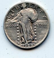 1929-D STANDING LIBERTY QUARTER SEE PROMO