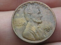 1932 D LINCOLN CENT WHEAT CENT- VF DETAILS