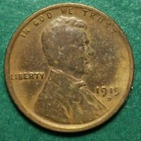 1919 D LINCOLN WHEAT CENT, CIRCULATED, ACTUAL COIN PICTURED