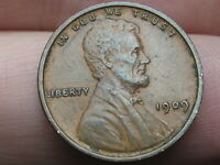 1909 VDB LINCOLN CENT WHEAT CENT, EXTRA FINE  DETAILS, CHOCOLATE BROWN