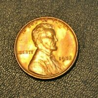 1932 LINCOLN WHEAT SMALL CENT CHOICE BU UNC RB RED BROWN