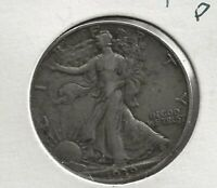1939-P   WALKING LIBERTY HALF DOLLAR   90 SILVER   HIGH GRADE  SHIPS FREE