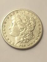 1890 S MORGAN SILVER DOLLAR VF-EXTRA FINE  DETAILS BEAUTIFAL COIN