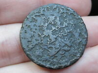 1816-1835 MATRON HEAD LARGE CENT PENNY, MATURE HEAD, METAL DETECTOR FIND?