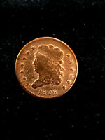 1828 HALF CENT 13 STARS CLASSIC HEAD. GREAT COIN FOR AN ALBUM. HARD TO FIND.