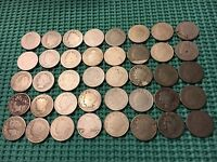 COMPLETE ROLL OF 40 1889 LIBERTY NICKELS- LOW MINTAGE DATE