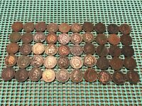COMPLETE ROLL OF 50 1903 INDIAN HEAD PENNIES