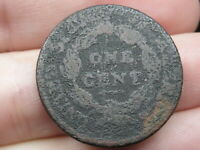 1808-1814 CLASSIC HEAD LARGE CENT PENNY- METAL DETECTOR FIND?