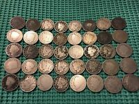 COMPLETE ROLL OF 40 1902 LIBERTY NICKELS- NO RESTORED DATES